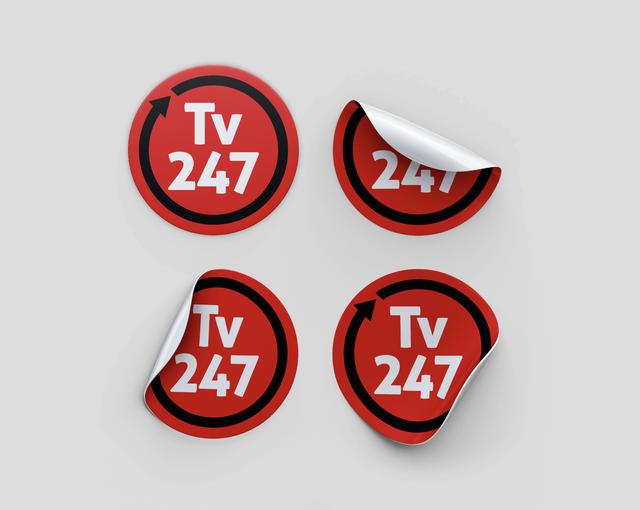 Adesivo TV 247