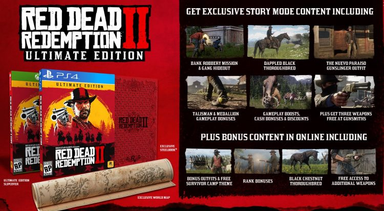 Sonderedition von Red Dead Redemption 2