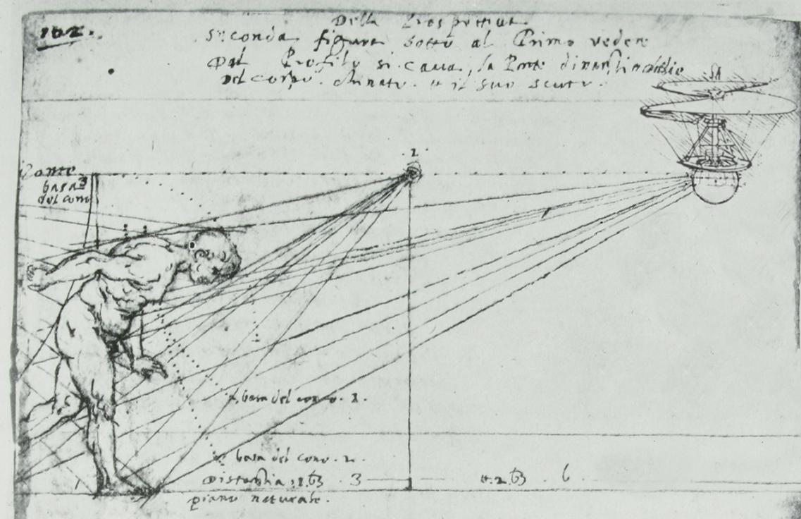 Leonardo da Vinči skice