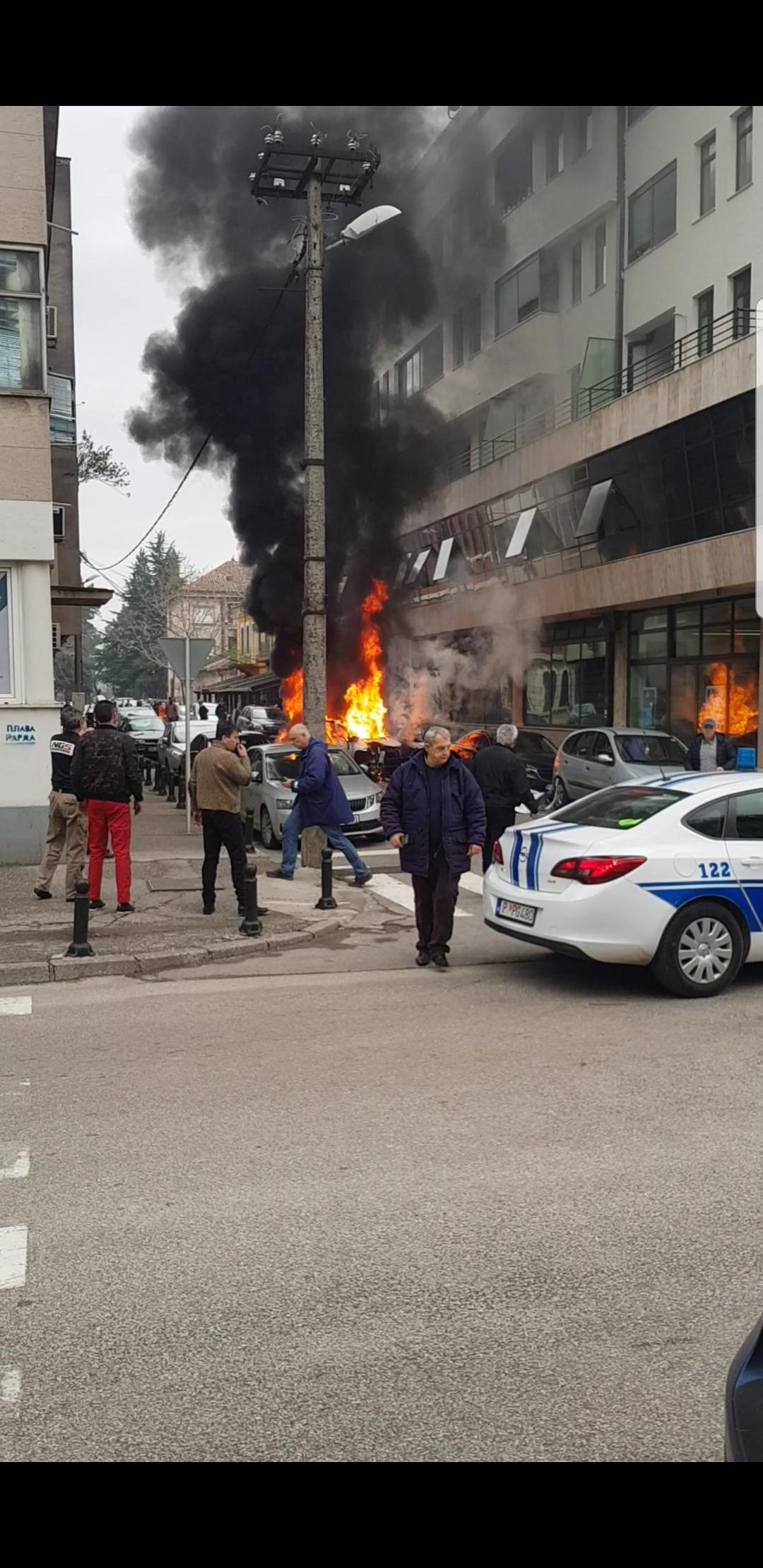 Eksplozija kod stare vatrogasne, Podgorica