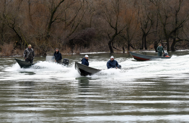 Potraga za nestalima na Skadarskom jezeru