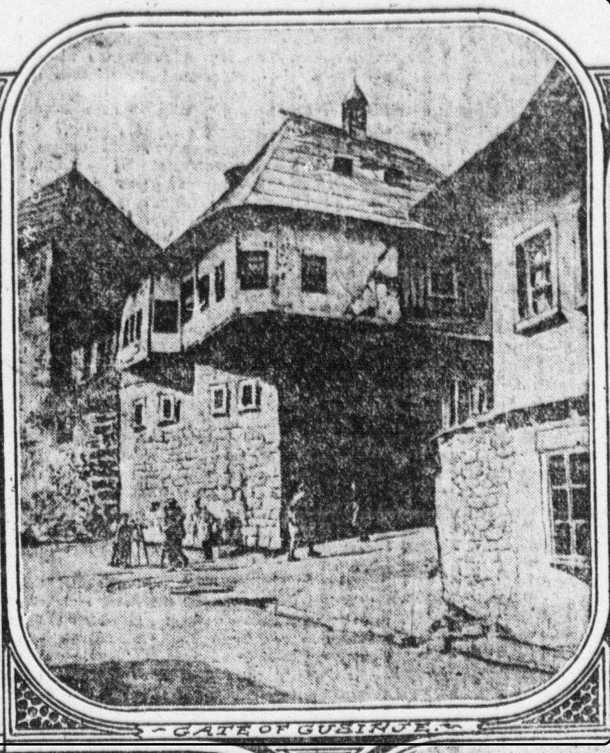 Stari crtež kuće iz ovoga kraja